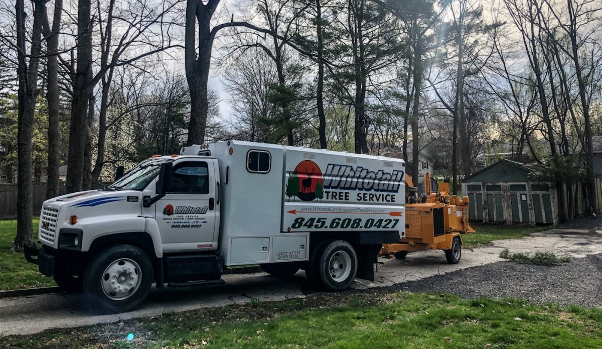 Whitetail Landscaping New Chip Truck